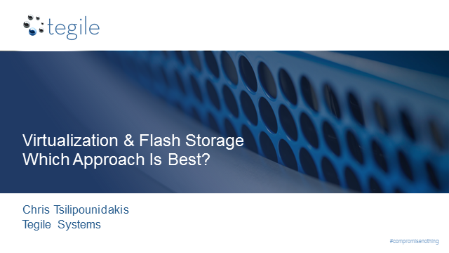 Flash-Based Storage Architectures for Virtual Environments