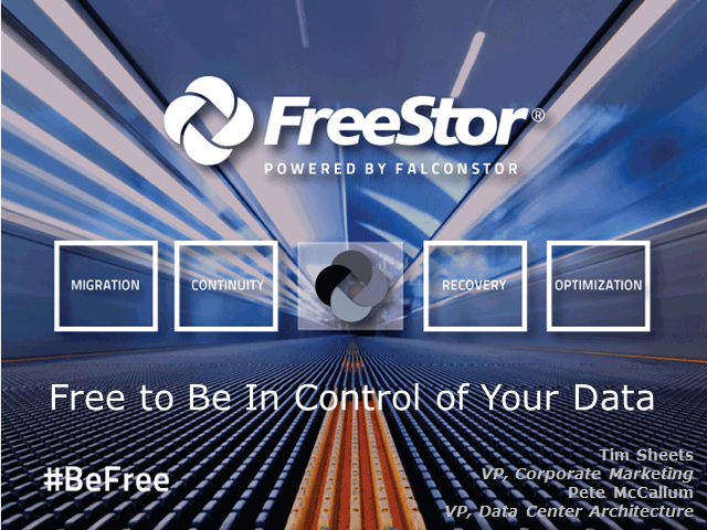 Free To Be In Control Of Your Data