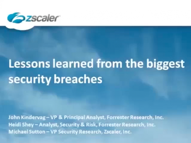 Lessons Learned From the Biggest Security Breaches