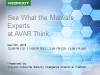 AVAR Unraveled: Anti-virus Asia Researchers International Conference