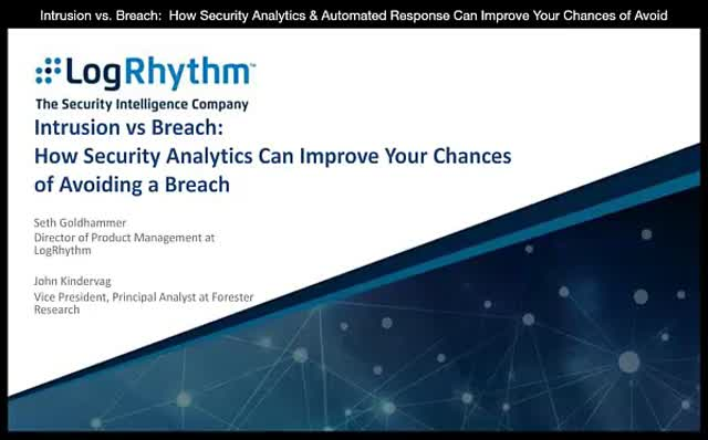 Avoiding a Breach with Security Analytics and Automated Response