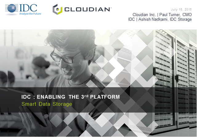 Enabling the 3rd Platform with Smart Data Storage