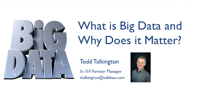 Big Data: What It Is and Why It Matters