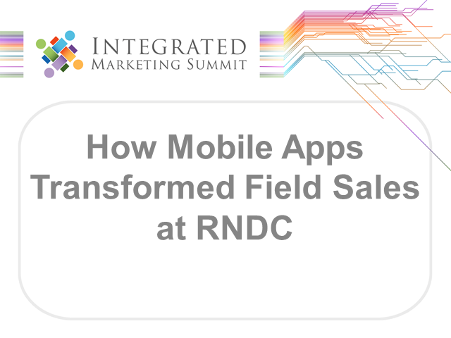 How mobile apps transformed field sales effectiveness at RNDC