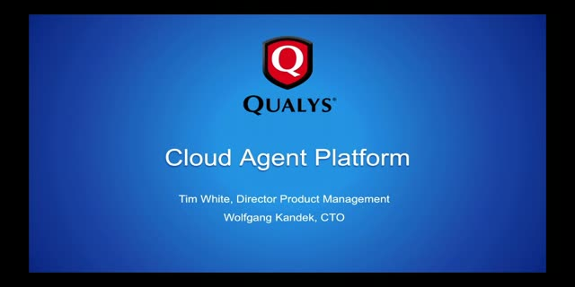 Next-Gen Vulnerability Management with Cloud Agent