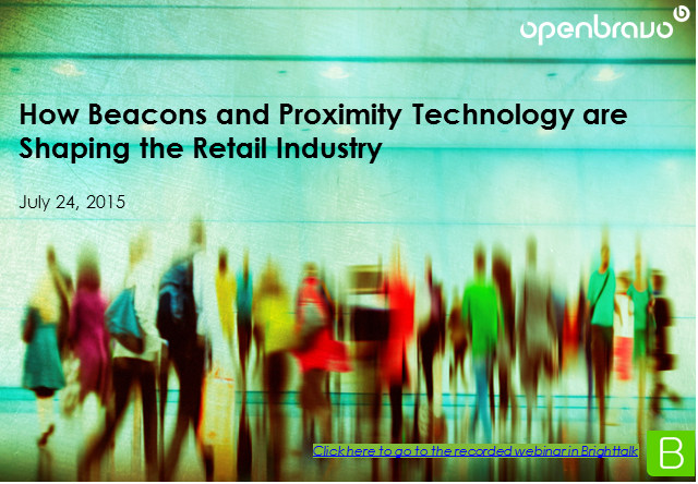 How Beacons and Proximity Technology Are Shaping the Retail Industry