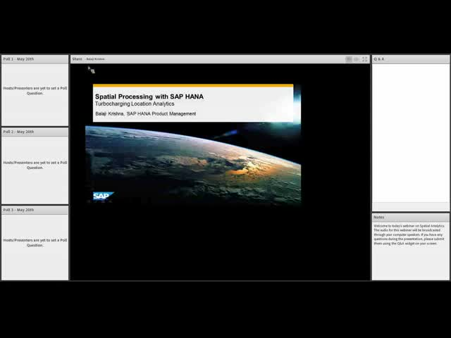 Technical Deep Dive: SAP HANA Cloud Platform Spatial Analytics