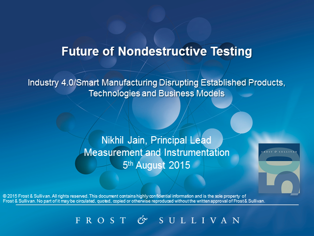 Adapting to the Future of Nondestructive Testing
