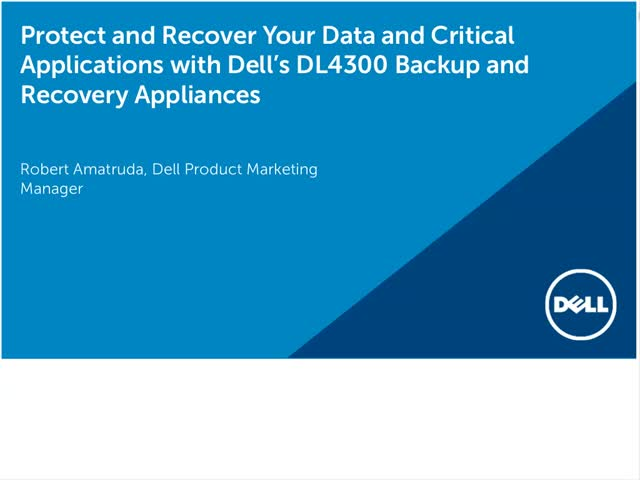 Get easy to deploy backup and recovery that protects mission-critical data