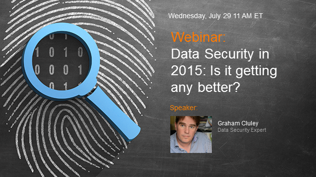 Data Security in 2015: Is it getting better?