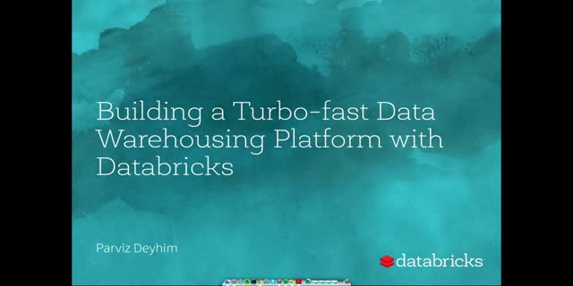 Building a Turbo-fast Data Warehousing Platform with Databricks