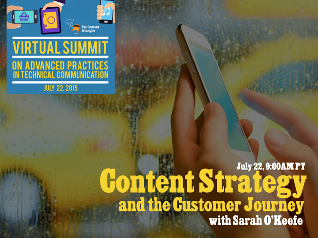 Content Strategy and the Customer Journey