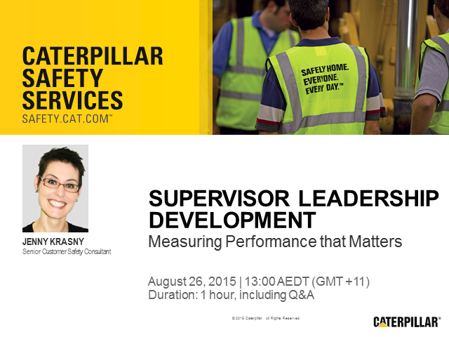 Supervisor Leadership Development: Measure Performance that Matters