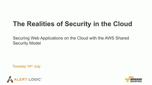 The Realities of Security in the Cloud