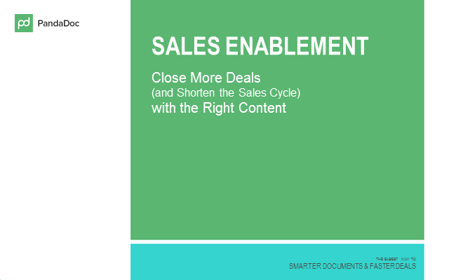 Close More Deals (and Shorten the Sales Cycle) with the Right Content