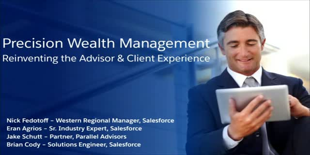 Precision Wealth Management: Reinventing the Customer Experience