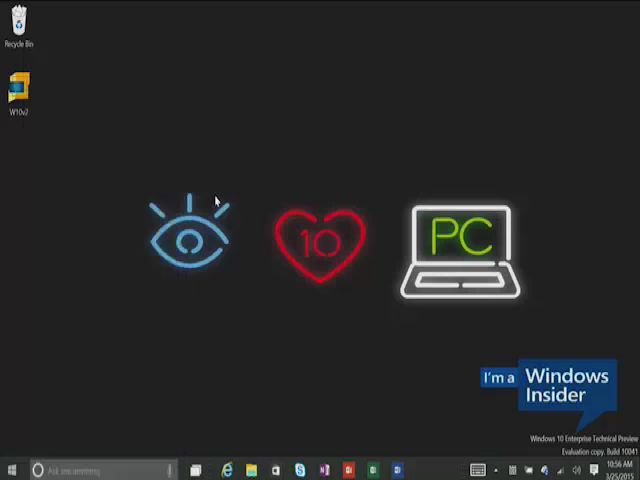 Windows 10 Demo