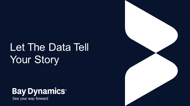 Let the Data Tell Your Story
