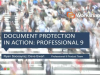 Protect your documents with Professional 9