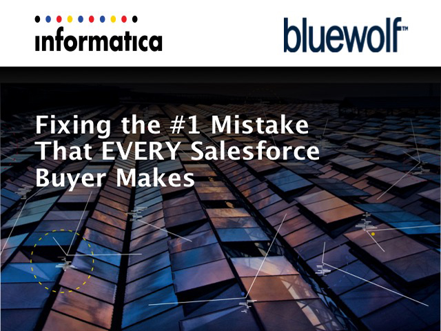 Fixing the No. 1 Mistake That Every Salesforce Buyer Makes