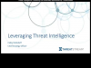 Threat Intelligence:  Defeating the Adversary