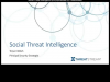 Social Threat Intelligence (STI)