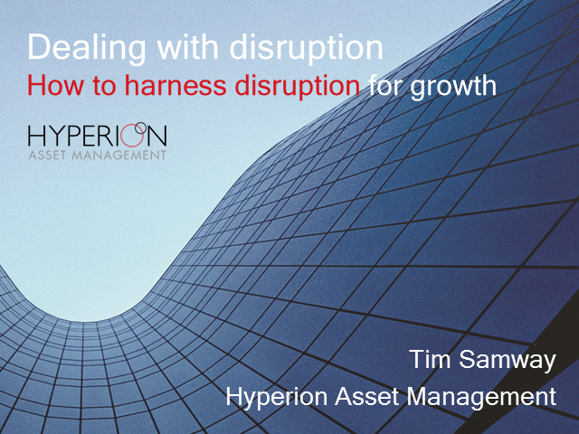 Harnessing disruption for growth in your clients portfolios