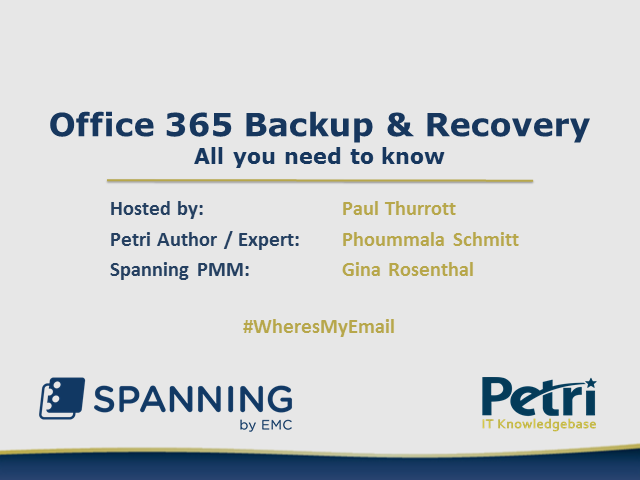 All You Need to Know About Office 365 Backup and Recovery