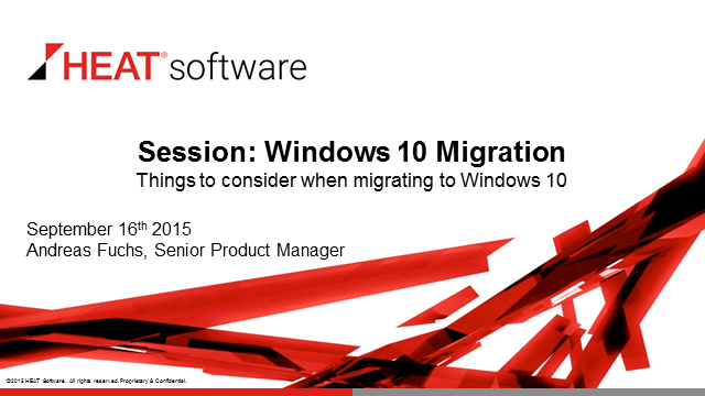 Top 6 Things to Consider When Migrating to Windows 10