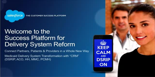 "Medicaid Delivery System Transformation with ""CRM"" (DSRIP, ACO, HH, MMC, PCMH)"