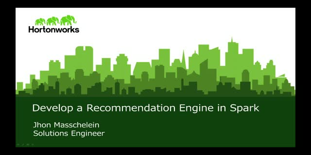 How to Develop a Recommendation Engine in Spark