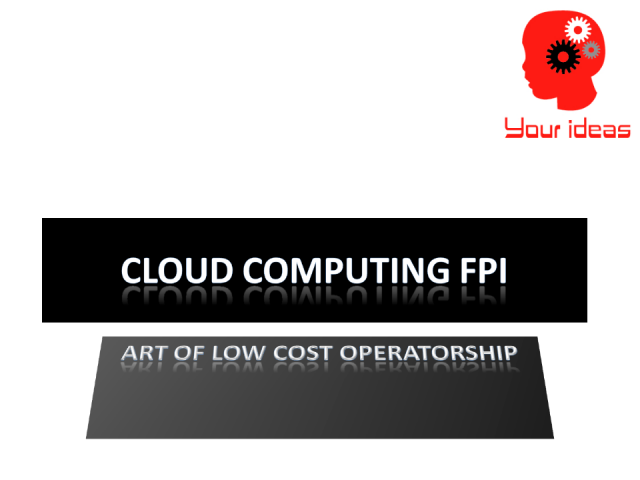 Cloud Computing Float Point Index