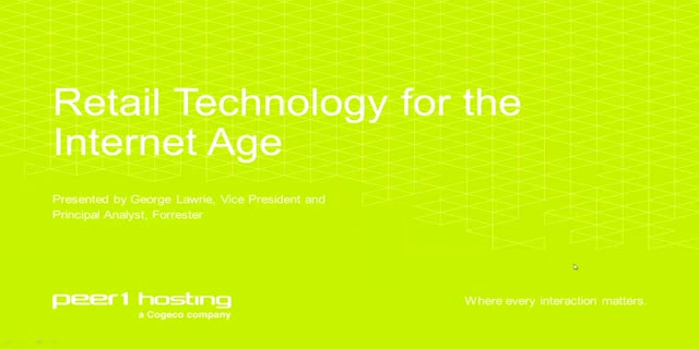 Retail Technology for the Internet Age