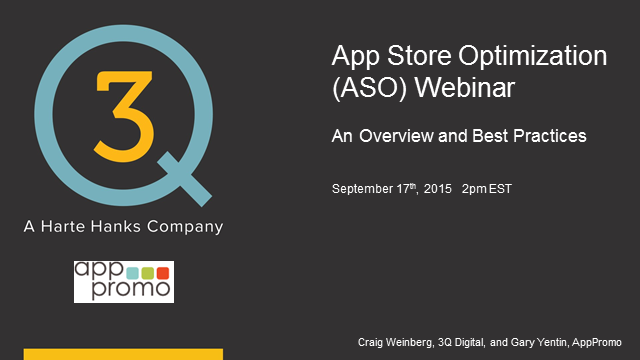 App Store Optimization: Overview and Best Practices