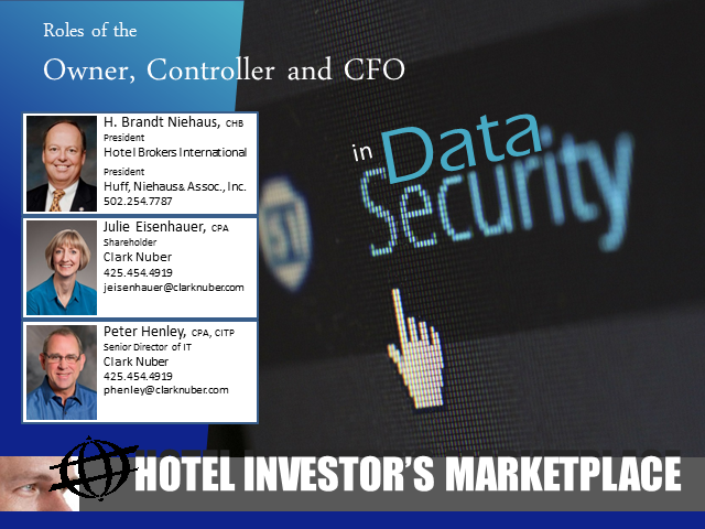 Roles of the Owner, Controller and CFO in Data Security
