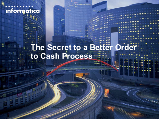 The Secret to a Better Order to Cash Process