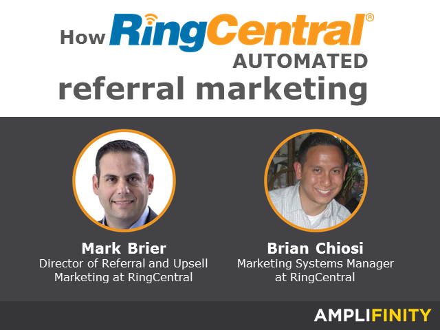 How RingCentral automated referral marketing