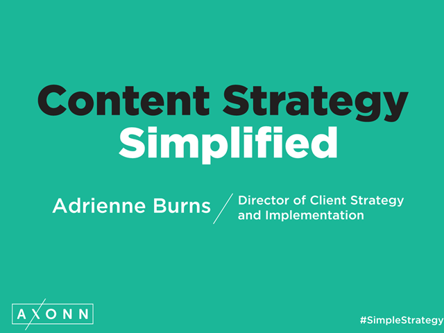 Content Strategy Simplified