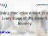 Using Predictive Analytics at Every Stage of the Buyer's Journey