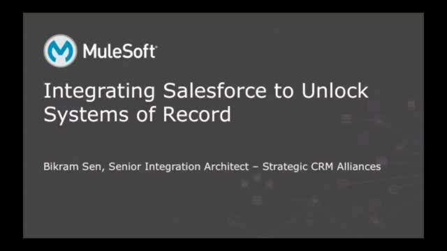 Integrating Salesforce to Unlock Systems of Record