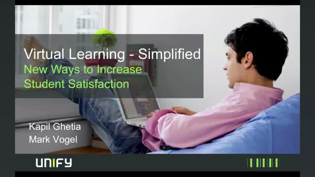 Virtual Learning - Simplified (by Unify)