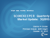 Eye on 2016: EDR Insight's ScoreKeeper State of the Market Update for 3Q15