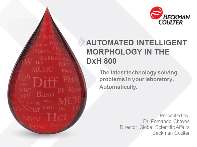 Automated Intelligent Morphology in the DxH 800