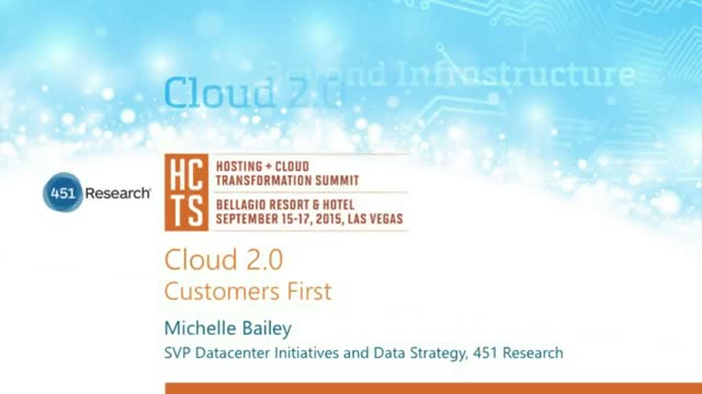 Cloud 2.0: Customers First