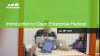 Use Cases: How to Use Open Enterprise Hadoop for Big Data Success