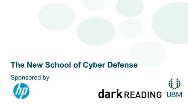 The New School of Cyber Defense