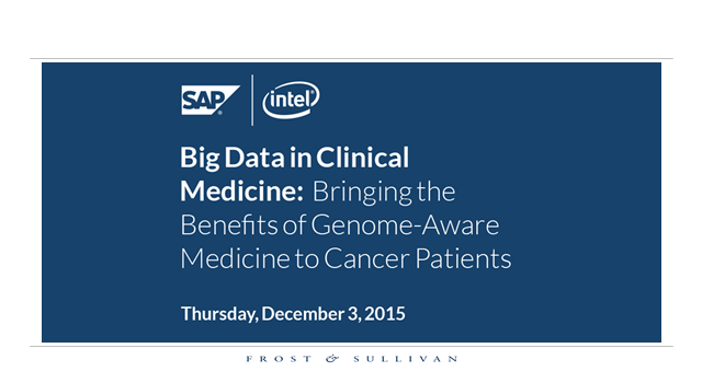 Big Data in Clinical Medicine: Bringing the Benefits of Genome-Aware Medicine...