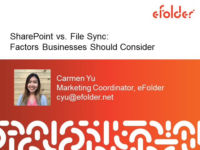 SharePoint vs. File Sync: Factors Businesses Should Consider