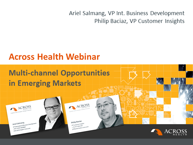Multi-channel Opportunities in Emerging Markets: Making the differences work