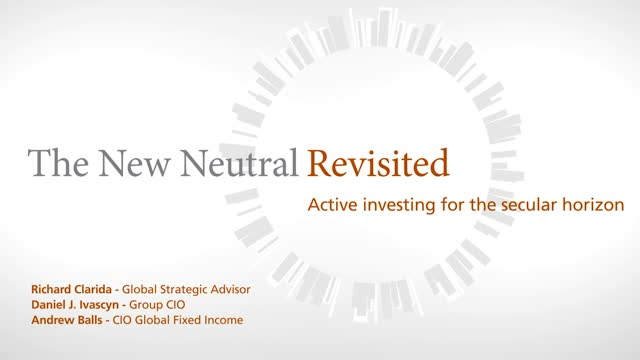 Secular Economic Outlook: The New Neutral Revisited